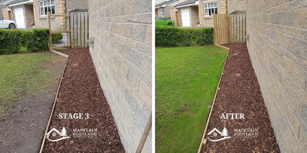maintain-scotland-cumbernauld-garden-transformation-bark-chipping-borders